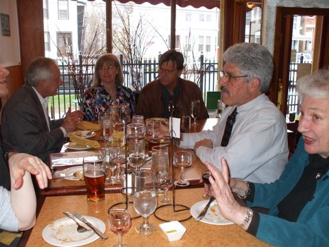 RPCVs gather at the Gingerman in Albany, NY for happy hour
