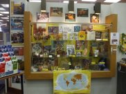 Peace Corps display done by the Thornhills at the Clifton Park Library