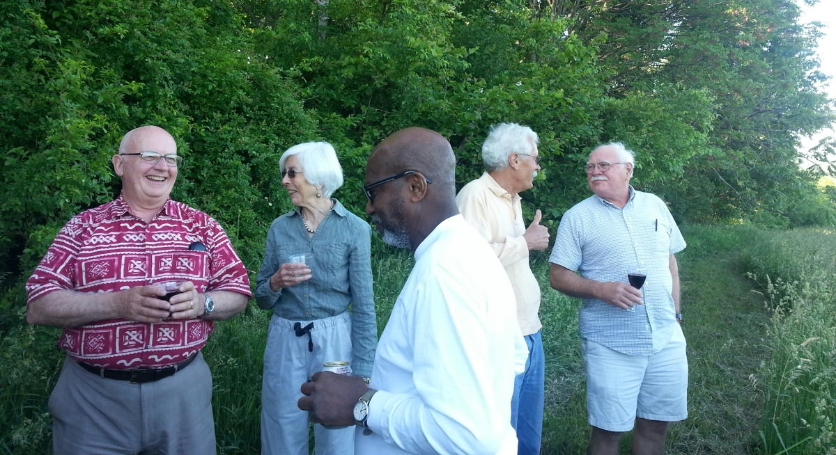 June 2013 meeting/potluck in Chatham, NY