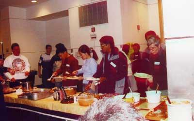RPCVs of NENY host a Thanksgiving dinner at RPI