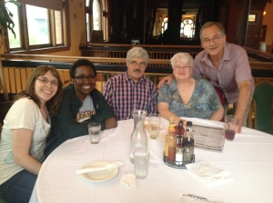 Kelly Thompson, Saru Zvoma, Bob Crowley, Jeanette Gottlieb, and Rich White-Smith.