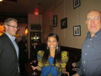 Ebola Relief Fundraiser 2014 at Umana Wine Bar, Albany